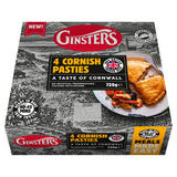 Ginsters 4 Cornish Pasties 720g