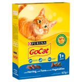 GO-CAT Adult with Herring and Tuna Dry Cat Food 825g