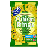 Golden Cross Onion Rings Onion Flavour Corn Snacks 150g