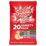 Golden Wonder Fully Flavoured Variety Pack 20 x 25g