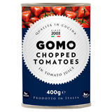 Gomo Chopped Tomatoes in Tomato Juice 400g