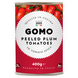 Gomo Peeled Plum Tomatoes in Tomato Juice 400g