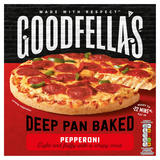 Goodfella's Deep Pan Baked Pepperoni 411g