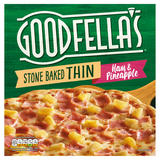 Goodfella's Stone Baked Thin Ham & Pineapple 365g