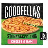 Goodfella's Stonebaked Thin Cheese & Ham 351g