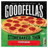 Goodfella's Stonebaked Thin Pepperoni 332g