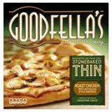 Goodfella's Stonebaked Thin Roast Chicken with an Italian Style Dressing Pizza 365g