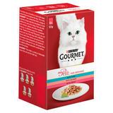 Gourmet Mon Petit Cat Food Pouches Fish 6 x 50g