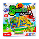 Grafix 3D Snakes and Ladders