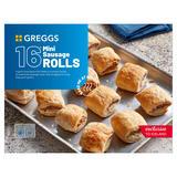 Greggs 16 Mini Sausage Rolls 433g