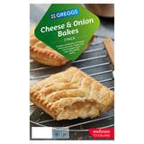 Greggs 2 Cheese & Onion Bakes 288g