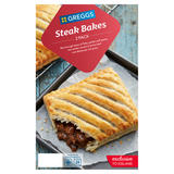 Greggs 2 Steak Bakes 280g