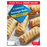 Greggs 8 Sausage Rolls 854g