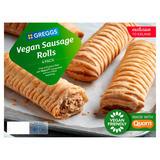 Greggs Vegan Sausage Rolls 4 Pack 420g