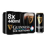 Guinness Draught Stout Beer 8 x 440ml Can