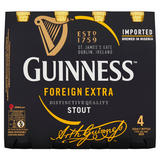 Guinness Foreign Extra Stout 4 x 325ml