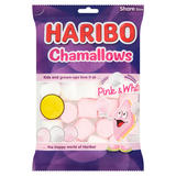 HARIBO Chamallows Pink & White Bag 160g £1 PM