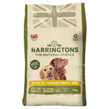Harringtons Rich in Turkey with Veg Complete Dry Adult Dog Food 15kg