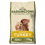 Harringtons Turkey & Veg Dry Adult Dog Food 15kg