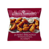 Harry Ramsden's Jumbo Breaded Wholetail Scampi 250g