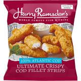 Harry Ramsden's Ultimate Crispy Cod Fillet Strips 450g