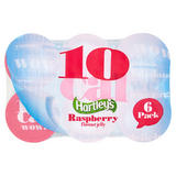 Hartley's Raspberry Flavour Jelly 6 x 175g