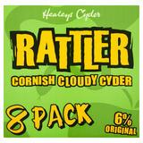 Healeys Cyder Rattler Cornish Cloudy Cyder 8 x 330ml