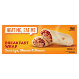 Heat Me, Eat Me Breakfast Wrap Sausage, Bacon & Beans 160g