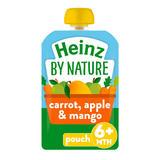 Heinz Apple, Carrot & Mango Fruit Pouch 100g