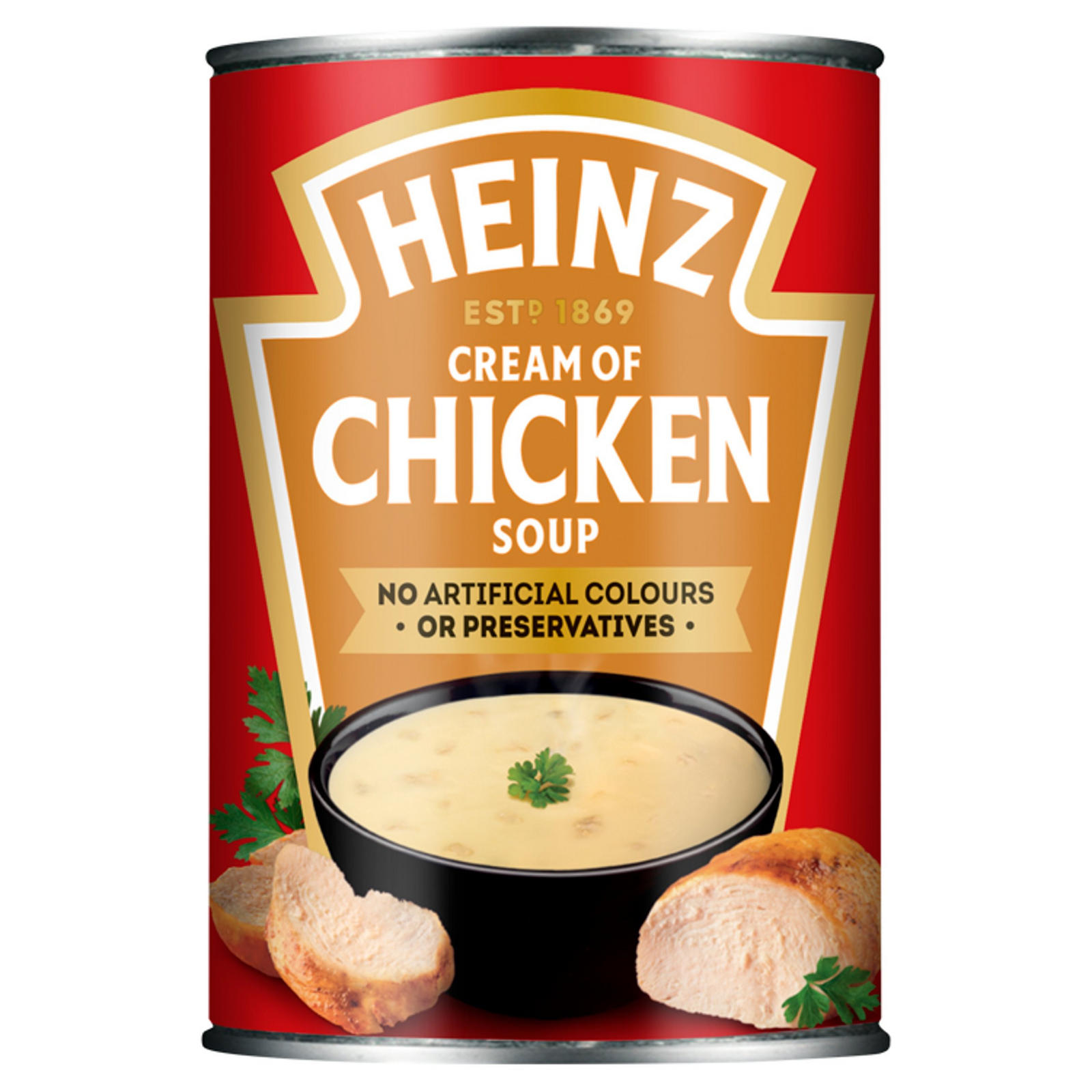 Heinz Cream Of Chicken Soup 400g Tinned Soup Iceland Foods