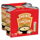 Heinz Cream of Chicken Soup 4 x 400g