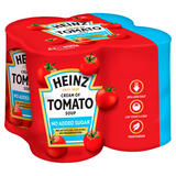 Heinz No Added Sugar Cream of Tomato Soup 4 x 400g