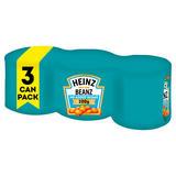 Heinz No Added Sugar Baked Beanz 3 x 200g