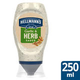 Hellmann's Garlic and Herb Sauce 250ml
