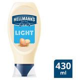 Hellmann's Light Squeezy Mayonnaise430ml