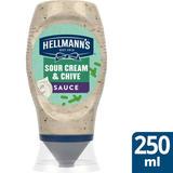 Hellmann's Squeeze Sour Cream & Chive Sauce 250 ml