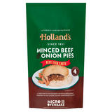 Holland's 4 Minced Beef & Onion Pies