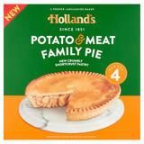 Holland's Potato & Meat Family Pie