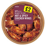 Hot & Spicy Chicken Wings 380g