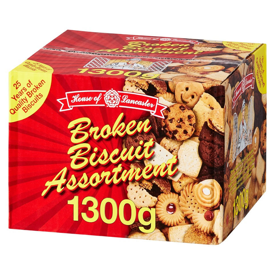 House Lancaster Broken Biscuit Assortment 1 3Kg | Bigger
