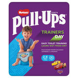 Huggies® Pull-Ups® Trainers Day, Boy, Size 2-4 Years, Nappy Size 5-6+, 20 Big Kid Training Pants