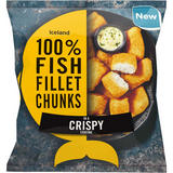 Iceland 100% Fish Fillet Chunks In A Crispy Coating 400g