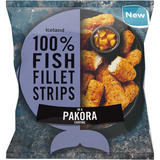 Iceland 100% Fish Fillet Strips In A Pakora Coating 450g