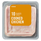 Iceland 10 (Average) Cooked Chicken Slices 115g