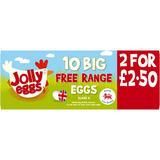 Jolly Eggs 10 Big Free Range Eggs