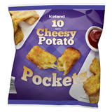 Iceland 10 Cheesy Potato Pockets 600g