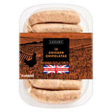 Iceland 10 Luxury Chicken Chipolatas 300g