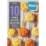 Iceland 10 Prawn Lollipop Selection 180g