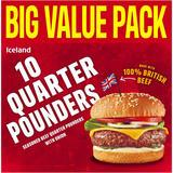 Iceland 10 Quarter Pounders 1135g