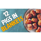 Iceland 12 (approx.) Pigs in Blankets 252g